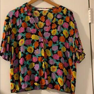 Funky Zara shirt XS